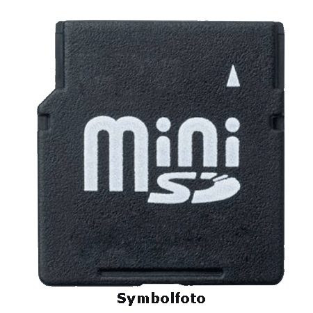 hard und software lars kroeger mini sd karte 1gb minisd. Black Bedroom Furniture Sets. Home Design Ideas